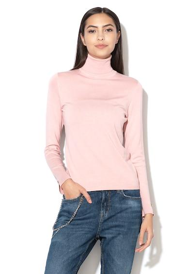 Liu Jo Фино плетен пуловер с поло Жени