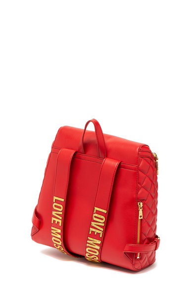 Love Moschino Műbőr hátizsák steppelt hatással női
