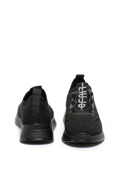 Liu Jo Pantofi sport slip-on cu aspect lucios si strasuri Asia Femei