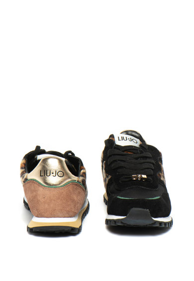 Liu Jo Wonder sneaker szőrös bőr betétekkel női