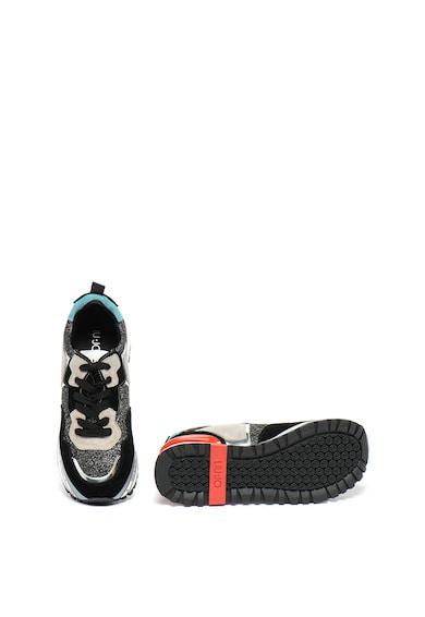 Liu Jo Pantofi sport cu garnituri de piele intoarsa Maxi Alexa Femei