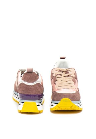 Liu Jo Pantofi sport cu insertii de piele intoarsa Maxi Alexa Femei