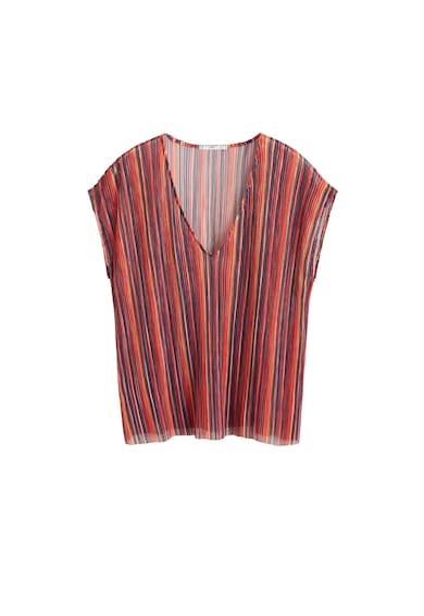 Mango Фино плетена блуза Randie с шпиц деколте Жени