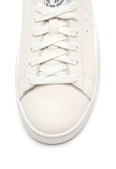 Diesel Pantofi sport de piele, cu logo Clever Femei