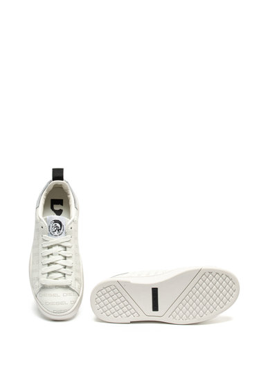 Diesel Pantofi sport de piele cu microperforatii Clever Femei
