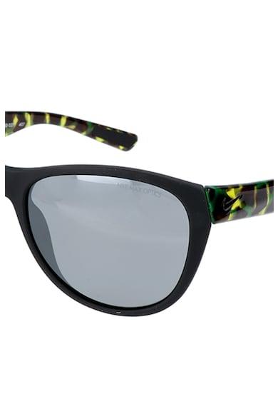 Nike Compel cat-eye napszemüveg absztraktmintás részletekkel női