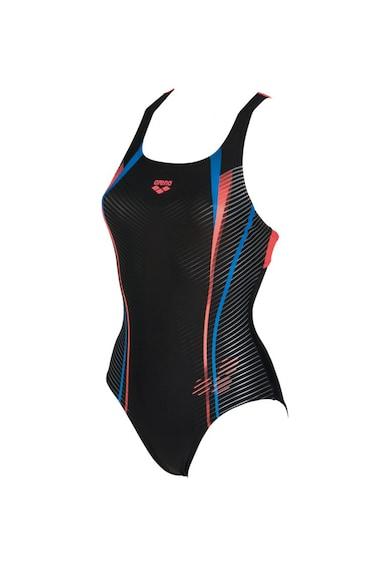 ARENA Costum de inot  Roy Swim Pro pentru femei, Black-Pink, Femei
