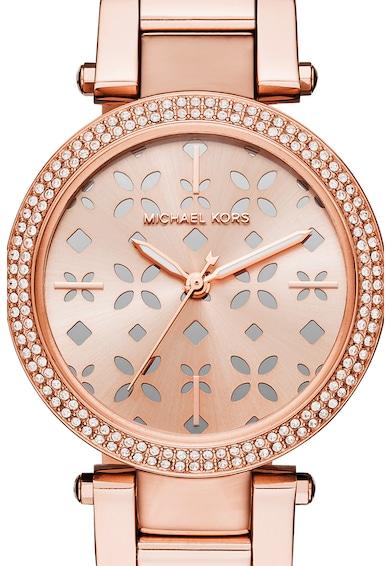 Michael Kors Кварцов часовник с неръждаема стомана Жени