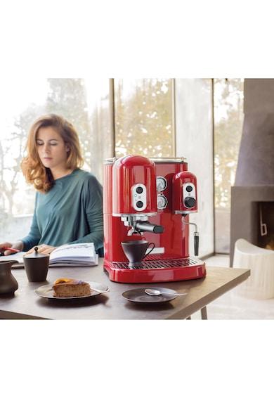KitchenAid Espresor manual Artisan  , 1300 W, 15 bar, 2 L, 2 boilere separate, Rosu Femei