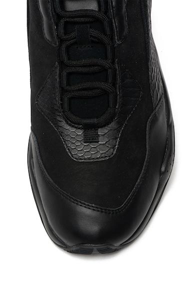 Puma Pantofi sport de piele si material textil Thunder Desert Barbati