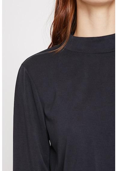 KOTON Bluza din amestec de modal, cu terminatie asimetrica Femei