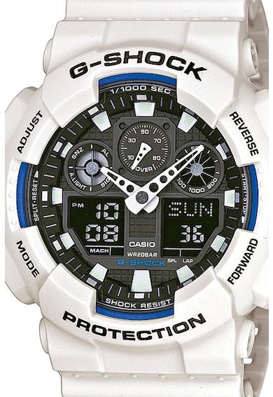 Casio Ceas cronograf analog-digital, rezistent la socuri Barbati
