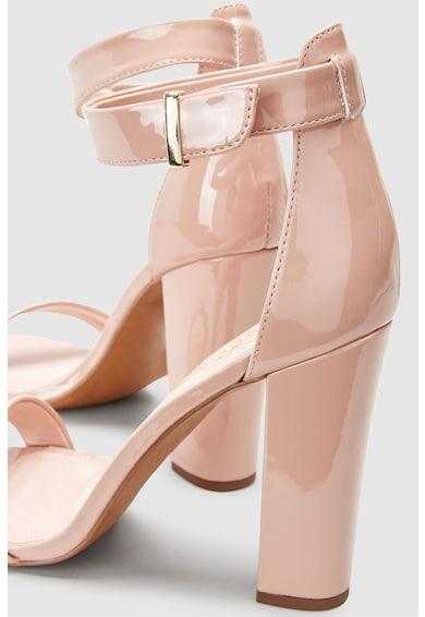 NEXT Sandale de piele ecologica lacuita cu bareta pe glezna Femei