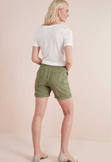 NEXT Pantaloni scurti cu terminatii rasucite Femei