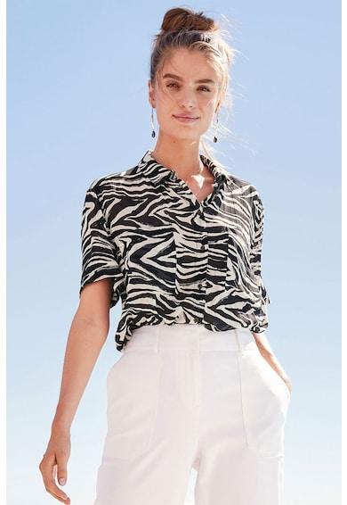 NEXT Camasa regular fit, cu imprimeu zebra Femei