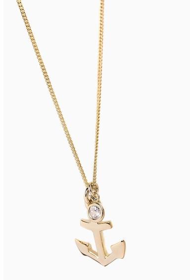 NEXT Колие от стерлингово сребро с 18K златно покритие Жени