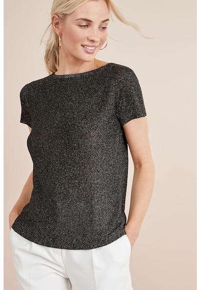 NEXT Bluza stralucitoare cu detaliu nod pe partea din spate Femei
