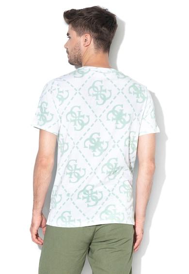 GUESS JEANS Тениска с разнороден десен Мъже