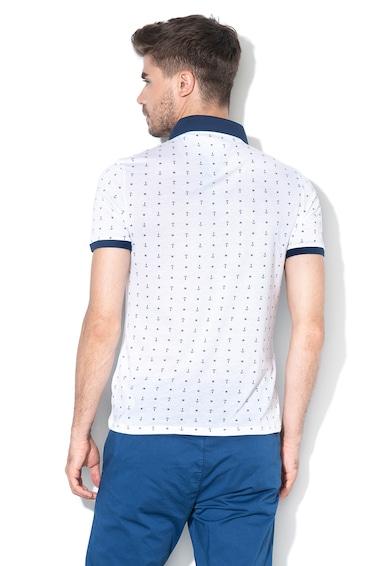 GUESS JEANS Силно прилепнала тениска с яка Мъже