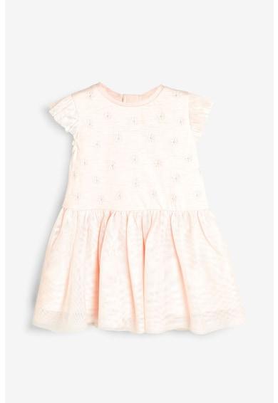 NEXT Разкроена рокля с тюл Момичета
