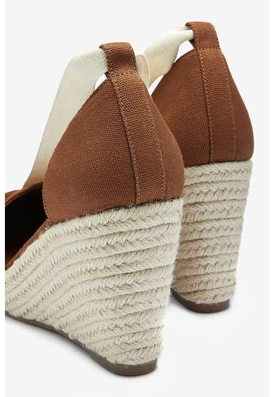 NEXT Pantofi tip espadrile wedge Femei