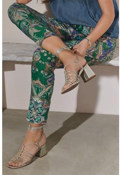 NEXT Pantaloni conici, cu imprimeu Femei