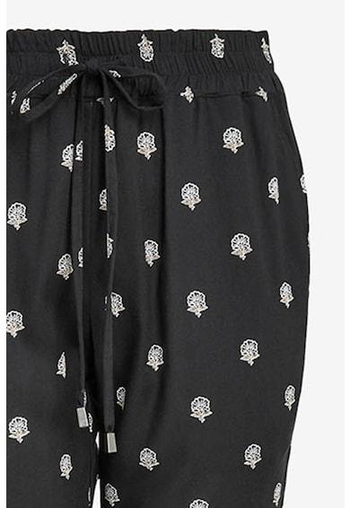 NEXT Pantaloni cu imprimeu grafic si talie elastica Femei