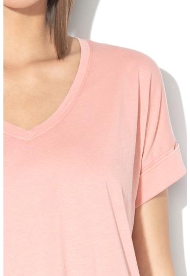 EDC by Esprit Тениска с навити маншети Жени