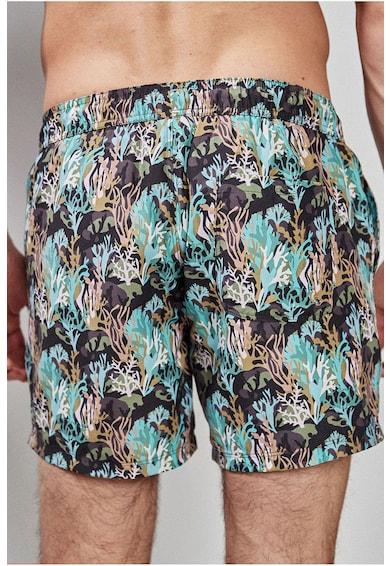 NEXT Pantaloni scurti de baie, cu model grafic Barbati