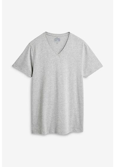 NEXT Set de tricouri cu decolteu in V - 5 piese Barbati