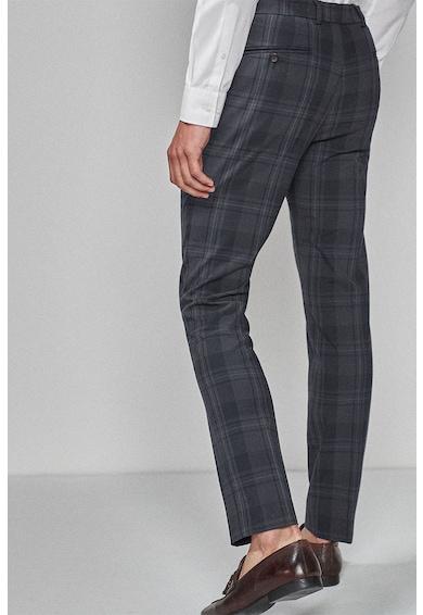 NEXT Pantaloni skinny cu model in carouri Barbati