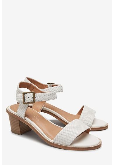 NEXT Кожени сандали с шагрен Жени