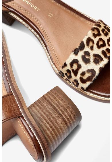 NEXT Кожени сандали с животинска шарка Жени