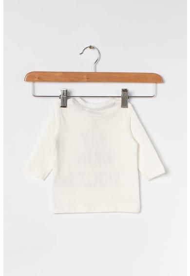 NAME IT Блуза от органичен памук с текстова щампа Момчета