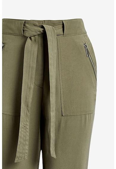 NEXT Pantaloni crop cu buzunare cu fermoar Femei