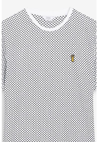 NEXT Tricou cu imprimeu geometric Barbati