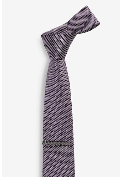 NEXT Релефна вратовръзка и клипс Мъже