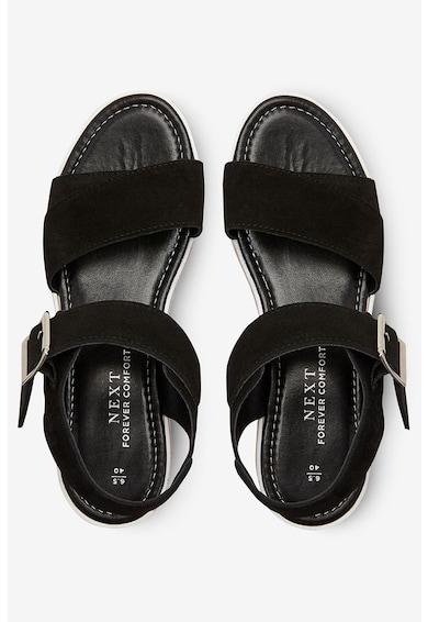 NEXT Sandale de piele cu platforma Femei