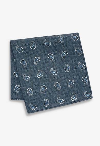 NEXT Set de cravata cu imprimeu paisley si batista decorativa Barbati