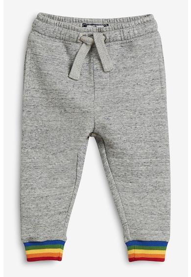 NEXT Pantaloni sport cu mansete cu model curcubeu Baieti