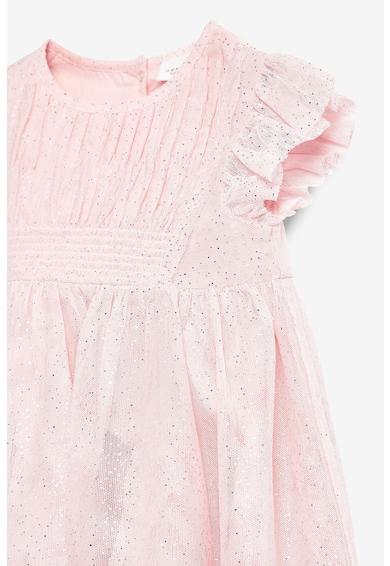 NEXT Разкроена рокля с мрежест горен слой Момичета
