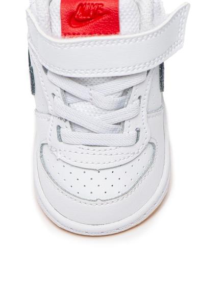 Nike Кожени спортни обувки Court Borough с лого Момичета