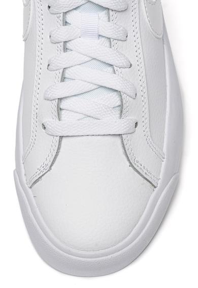 Nike Pantofi sport de piele si piele ecologica Court Royale Femei