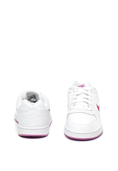 Nike Pantofi sport de piele cu logo stantat Ebernon Femei