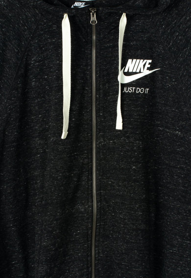 Nike Hanorac cu fermoar si aplicatie logo Plus Size NSW Gym Vintage Femei