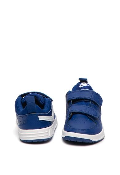 Nike Кожени спортни обувки с лого Момичета