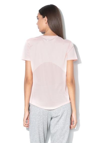 Nike Tricou cu insertie de plasa si Dri-Fit, pentru alergare Miller Femei