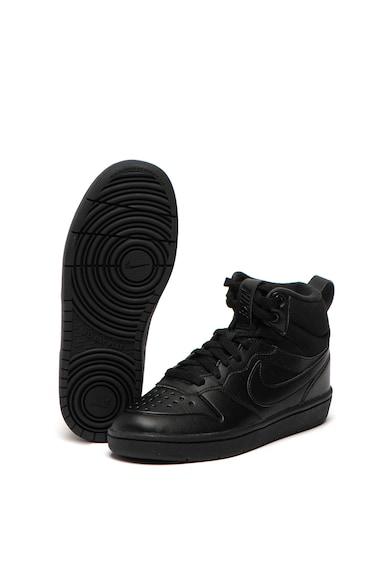 Nike Pantofi sport mid-high de piele Court Borough Mid 2 Fete