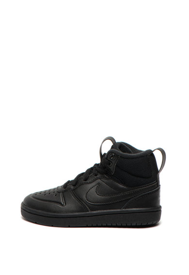 Nike Pantofi sport de piele Court Borough Mid 2 Fete