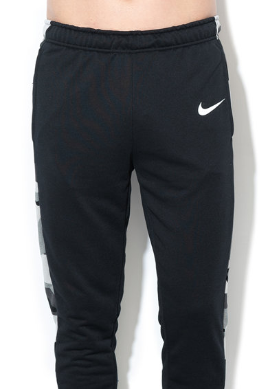 Nike Pantaloni cu segmente laterale contrastante, pentru fitness Barbati